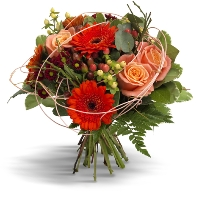 Orange / red bouquet