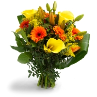 Beautiful yellow bouquet