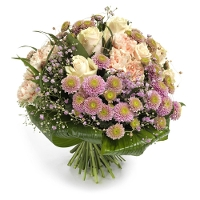 Cream pink bouquet